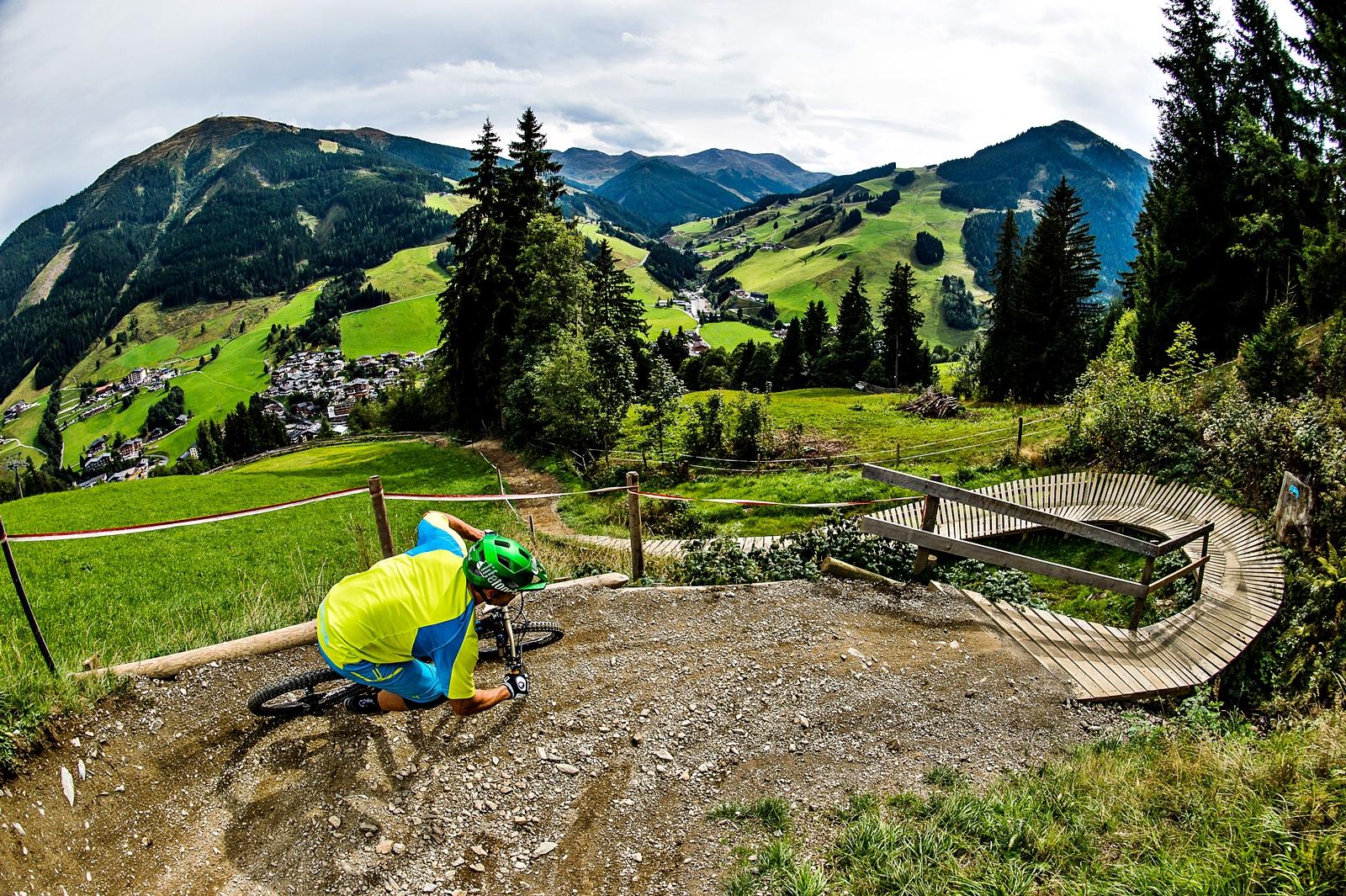 Bikepark Region Saalbach Hinterglemm Osterreich